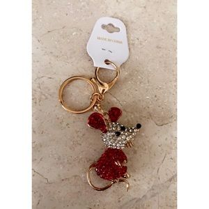 Year of the Rat Bling Keychain